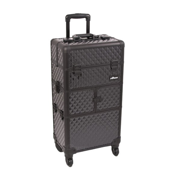 Sunrise Professional Trolley Makeup Storage Case