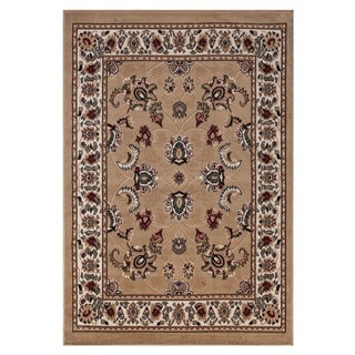 Paterson Collection Beige Traditional Oriental Design 3-piece Area Rug Set (5' x 7''; 1'8 x 4'11; 1'8 x 2'6)