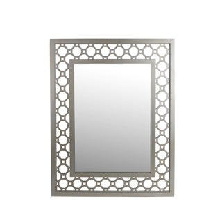 Privilege Rectangular Beveled Glass Wall Mirror