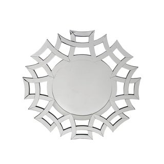 Privilege Greek Key Beveled Wall Mirror