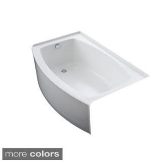 Kohler Expanse 5-foot Left-hand Drain Acrylic Bathtub