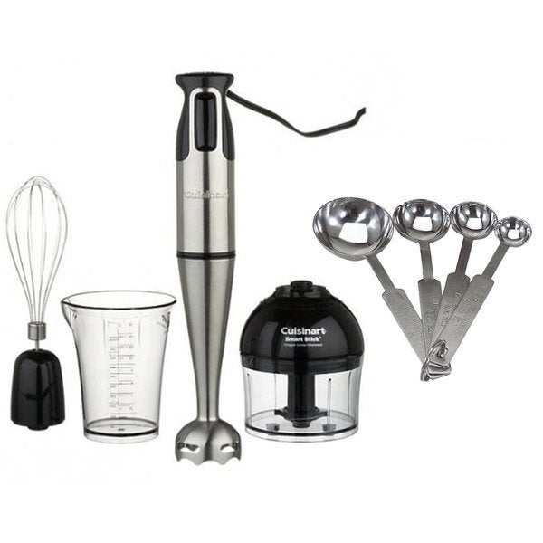 Cuisinart CSB-80 Smart Stick Power Trio High Torque Hand Blender Bundle