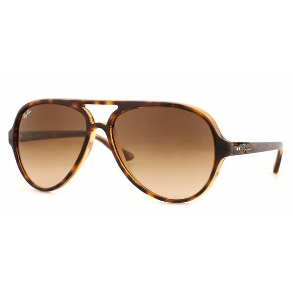 Ray-Ban RB4125 Cats Havana Sunglasses 59MM
