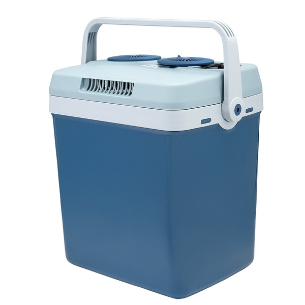 Knox 12-Volt Car Cooler and Warmer, 27-Quartz - Blue