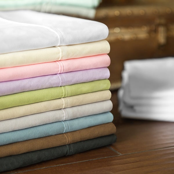 Malouf Super Soft Double Brushed Microfiber Wrinkle