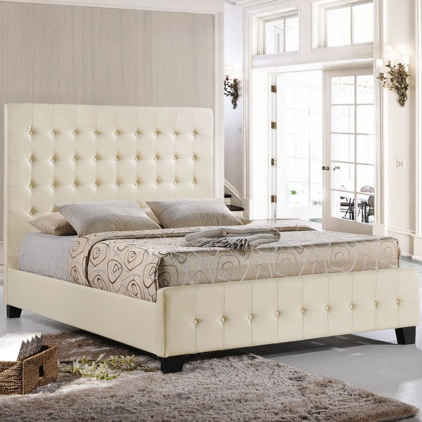 Cosmos Bed Frame in Ivory