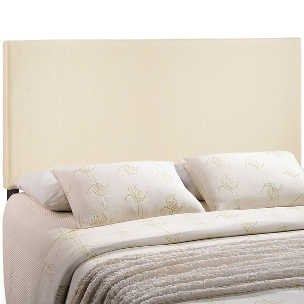Zone Upholstered Off White Headboard Free Shipping Today Overstock