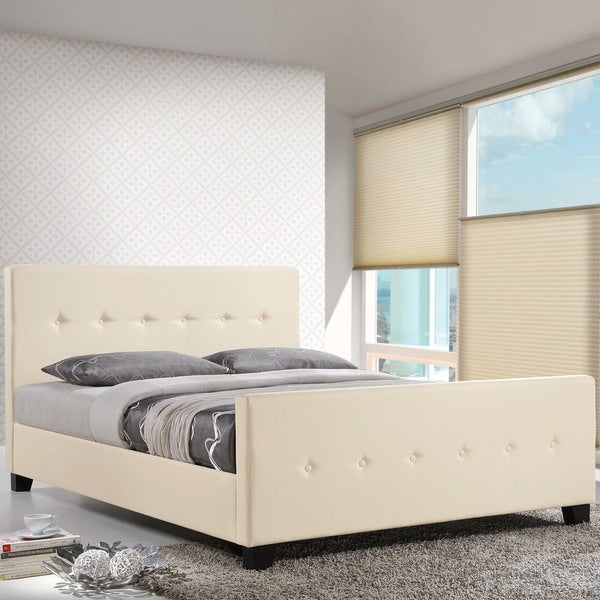 Soubrette Bed Frame in Ivory
