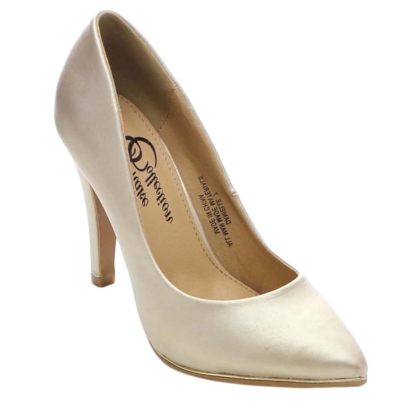 Shake Collection Danielle Women's Pointed Toe Classic Stiletto Heel