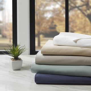 Ink+Ivy 300 Thread Count Percale Cotton Sheet Set
