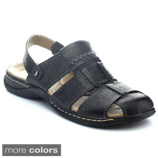 Rocus P-701 Men's Cloesed Toe Sling Back Fishermen Sandals