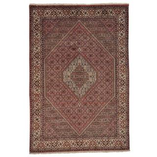 Handmade Oriental 300 KPSI Persian Bidjar Rug (6'5 x 9'5)