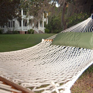 Presidential Size Polyester Rope Hammock