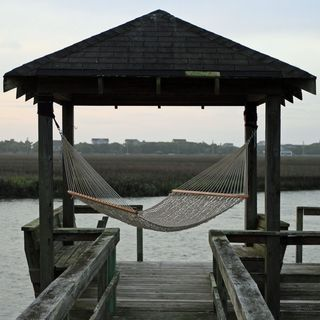 Oatmeal Presidential Size Original DuraCord Rope Hammock (Stand Not Included)
