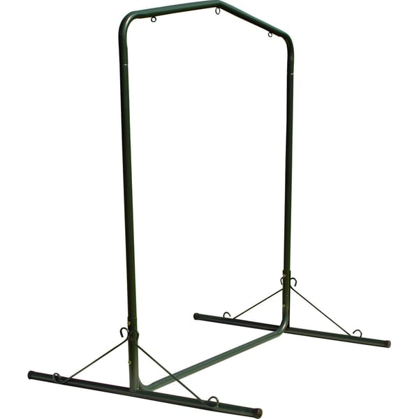 Forest Green Steel Hammock Swing Stand