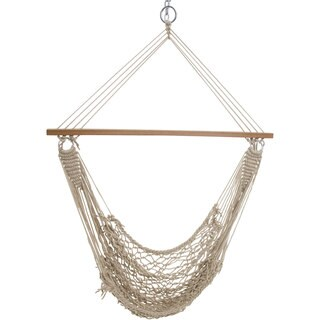 Single Cotton Rope Swing (Stand Not Included)