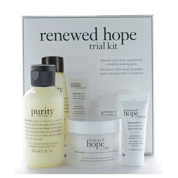 Philosophy Renewed Hope Trial 3-piece Kit