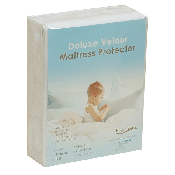 Rest-A-Sure Terrycloth Deep Pocket (21-inch depth) Mattress Protector