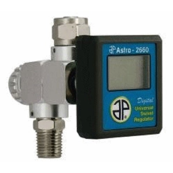 Astro Pneumatic Tool Digital Universal Swivel Regulator