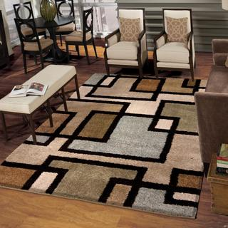 """Wild Weave Huffing Bisque Area Rug (3'11"""" x 5'5"""")"""
