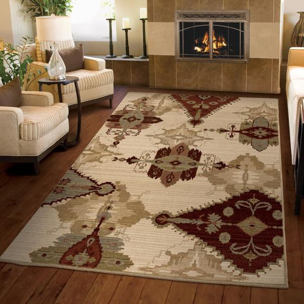 "Anthology Lancaster Beige Area Rug (3'11"" x 5'5"")"