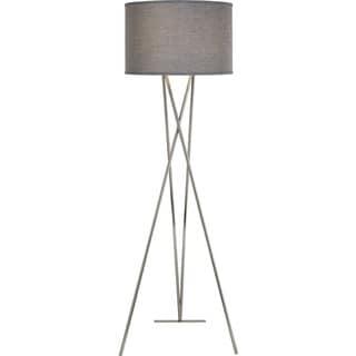 Triton Ash Woven Floor Lamp