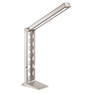 Lite Source Galtem LED Desk Lamp, Silver