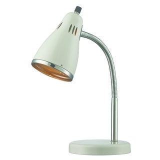 Lite Source Kris Desk Lamp, White