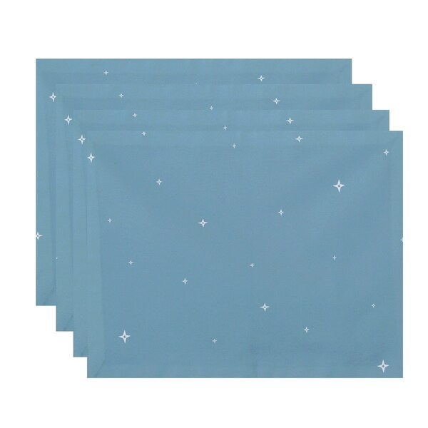 Small Stars Print Decorative Holiday Table Top Placement