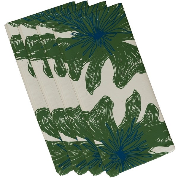 Floral Print 10-inch Table Top Napkin
