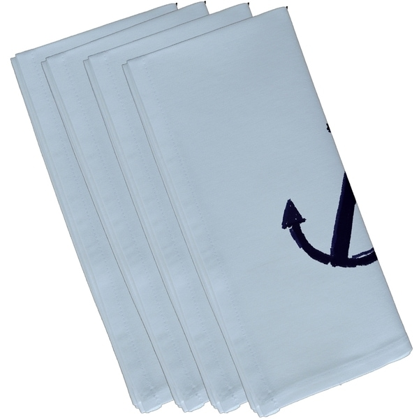 Coastal Anchor 10-inch Table Top Napkin
