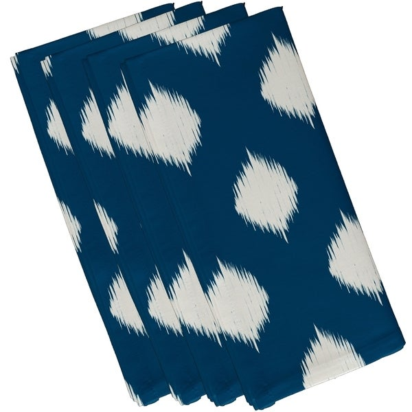 Static Polka-dot Geometric Print 10-inch Table Top Napkin