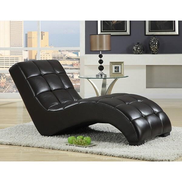 Emerald PU Chaise Lounge