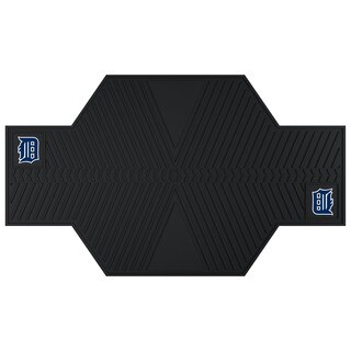 Fanmats Detroit Tigers Black Rubber Motorcycle Mat