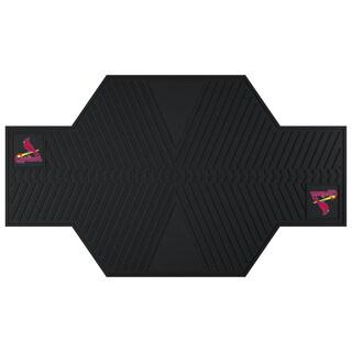 Fanmats St. Louis Cardinals Black Rubber Motorcycle Mat