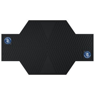 Fanmats San Diego Padres Black Rubber Motorcycle Mat