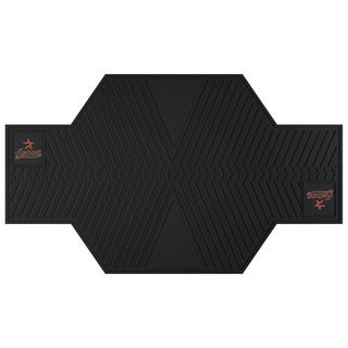 Fanmats Houston Astros Black Rubber Motorcycle Mat