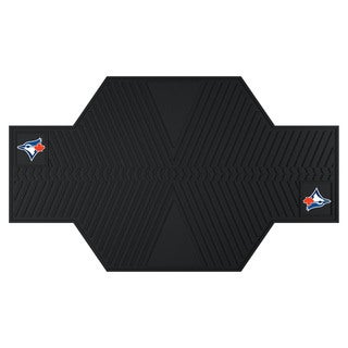 Fanmats Toronto Blue Jays Black Rubber Motorcycle Mat