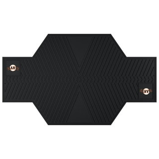 Fanmats San Francisco Giants Black Rubber Motorcycle Mat
