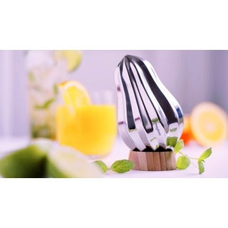 Magisso Bulb Citrus Reamer With Bamboo Stand