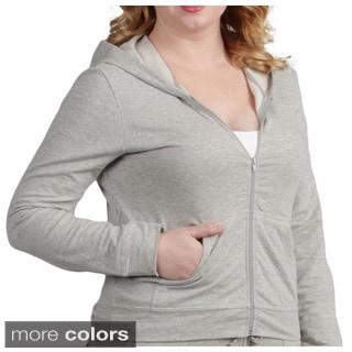 Tabeez Women's Plus Size Full-Zip Hoodie