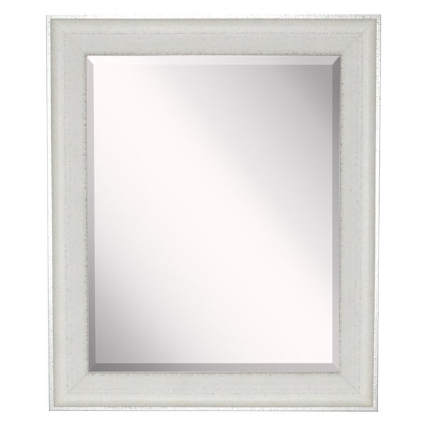 American Made Vintage White Mirror