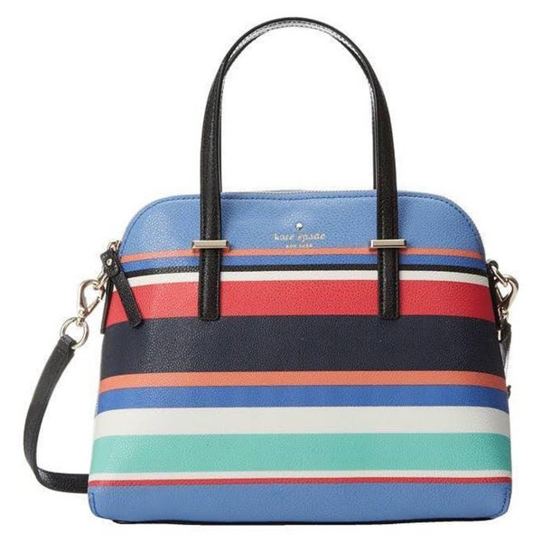 Kate Spade New York Cedar Street Stripe Maise Handbags Multi Stripe