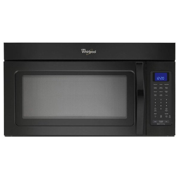 Whirlpool 1.9-cubic-foot Over-the-Range Microwave Oven Black