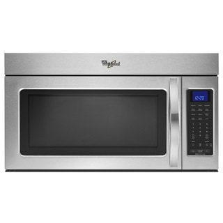 Whirlpool 1.9-cubic-foot Over-the-Range Microwave Oven Stainless Steel