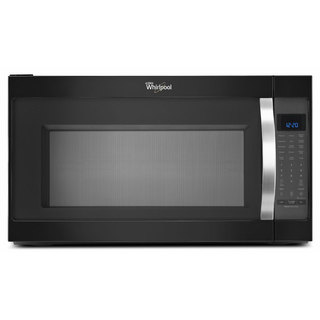 Whirlpool 2.0-cubic-foot Over-the-Range Microwave Oven Black Ice