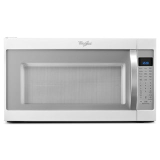 Whirlpool 2.0-cubic-foot Over-the-Range Microwave Oven White ice