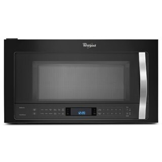 Whirlpool 2.1-cubic-foot Over-the-Range Microwave Oven Black