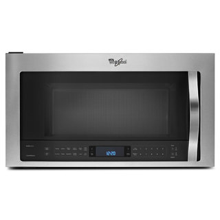 Whirlpool 2.1-cubic-foot Over-the-Range Microwave Oven Stainless Steel