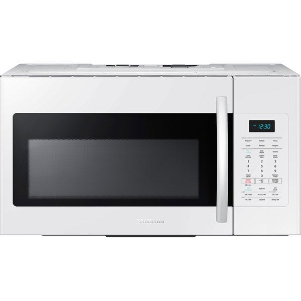 Samsung 1.7-cubic-foot Over-the-Range Microwave Oven White
